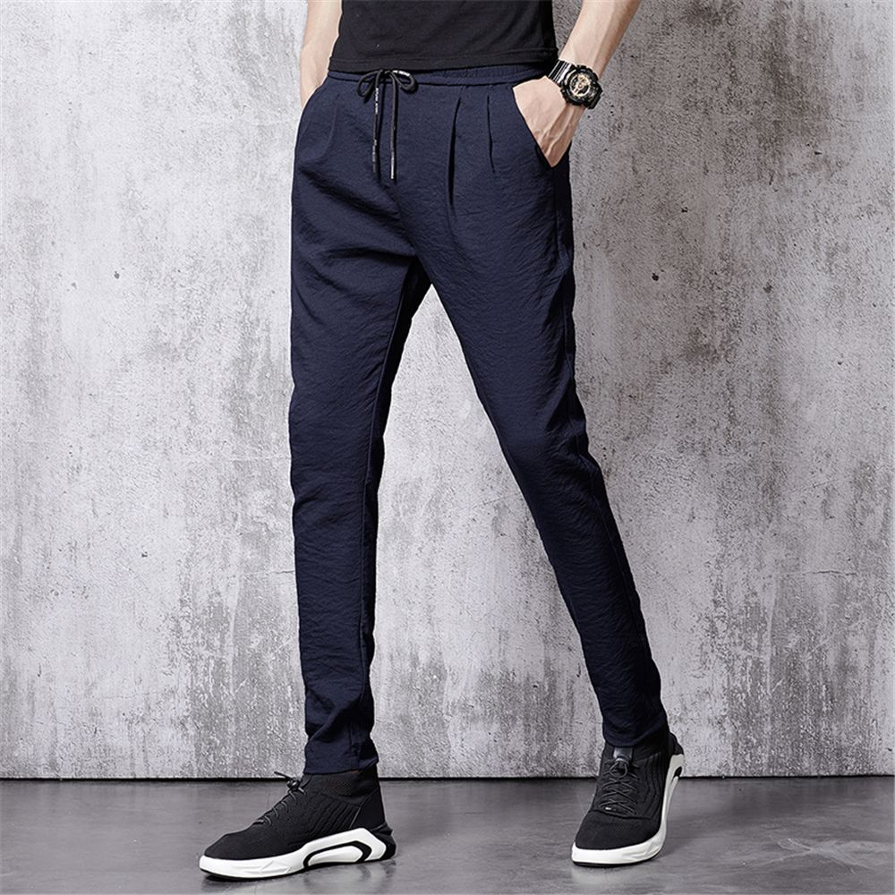 f72210e2320 Men S Summer Fashion Loose Sweatpants Trend Casual Pants Cool Trousers838