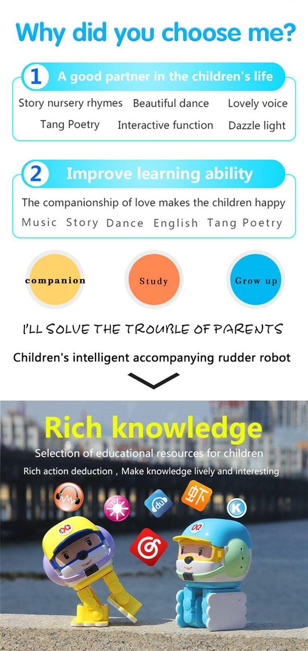 Bluetooth Control Smart Dancing Singing Robot Toy