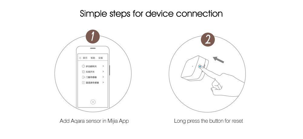Aqara Smart Window Door Sensor Intelligent Home Security Equipment with  ZigBee Wireless Connection ( Xiaomi Ecosystem Product )