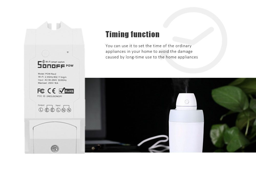 Sonoff Pow R2 WiFi Intelligent Remote Power Monitor Electricity Statistics  Current Metering Switch Modification Part