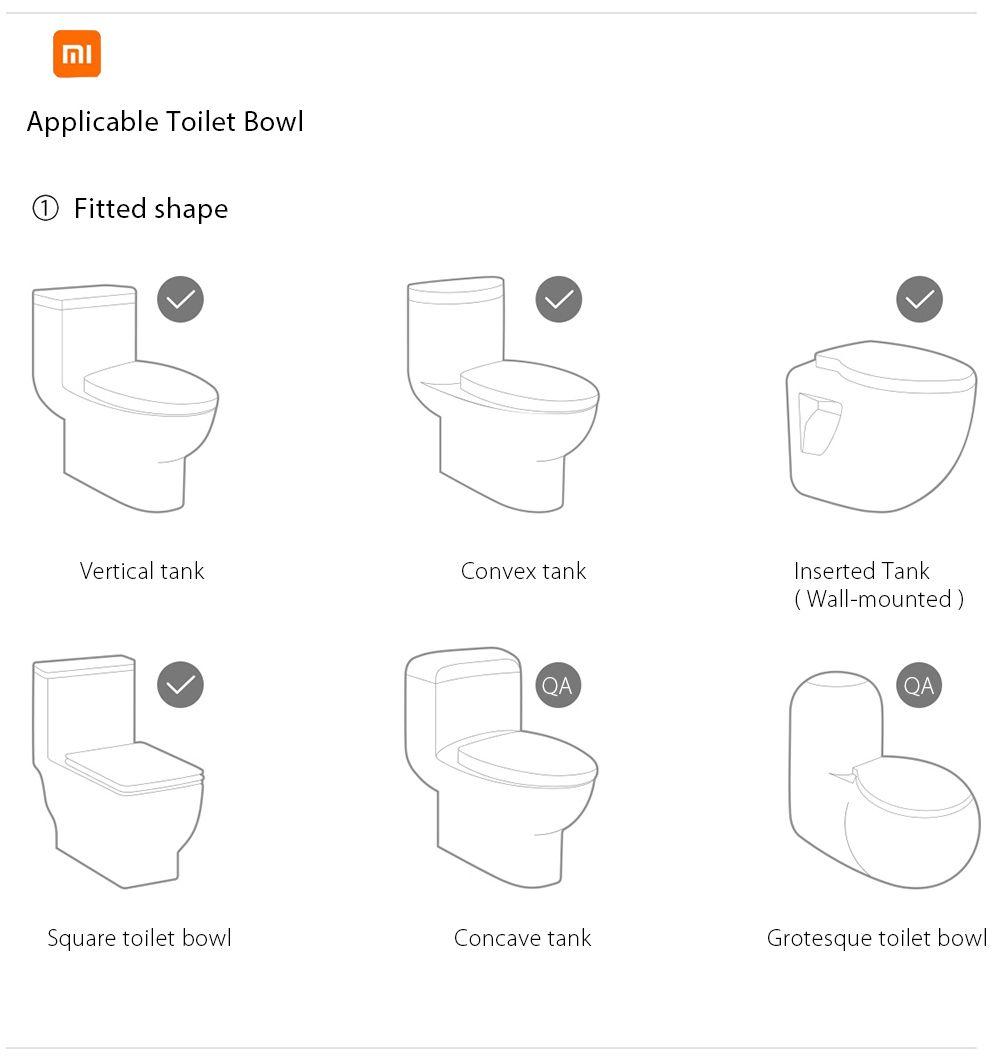 Sensational Smartmi Smart Toilet Seat Water Heated Filter Electronic Bidet Spray Xiaomi Ecosystem Product Ibusinesslaw Wood Chair Design Ideas Ibusinesslaworg