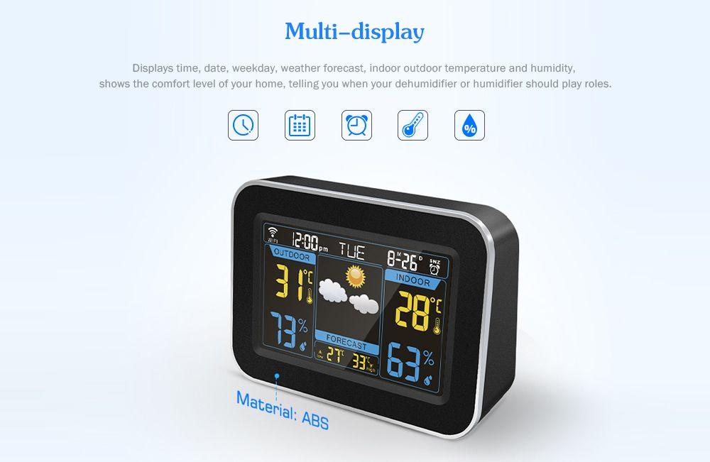 F - 100 WiFi Weather Forecast Clock