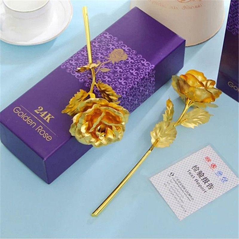 Rouge Fleur Artificielle Rose Cadeau Personnalise Rosegal Com